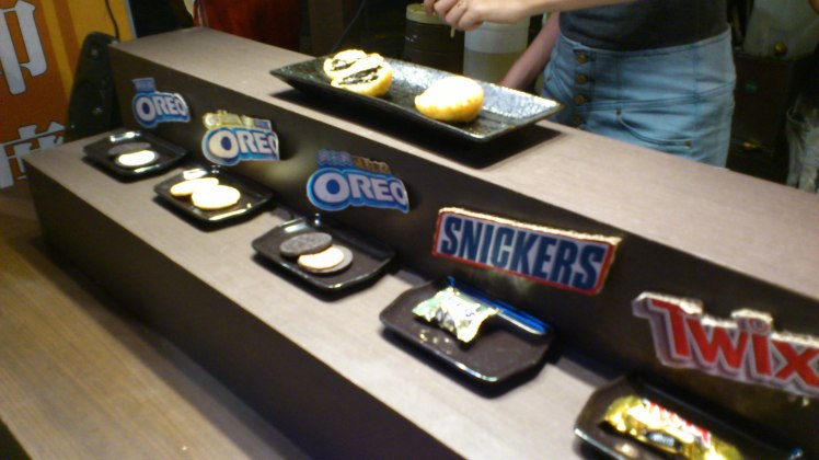 The different types of Oreo at your mercy!
