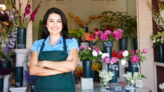 flowershop owner