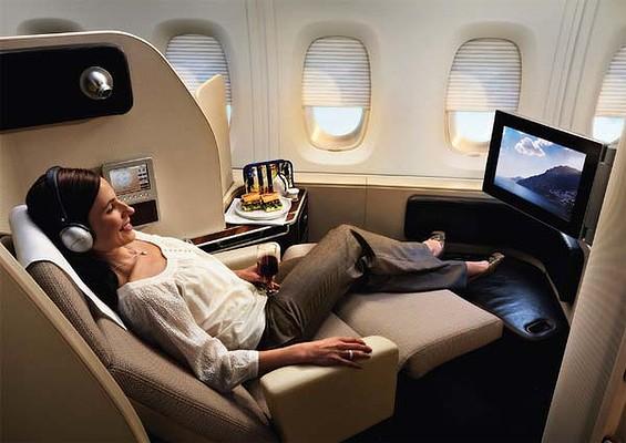 First Class Qantas