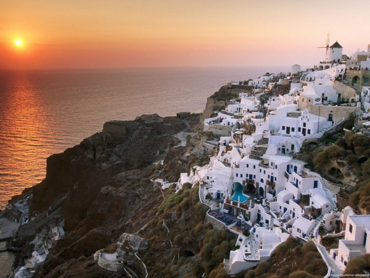 Santorini Greece Sunset 1