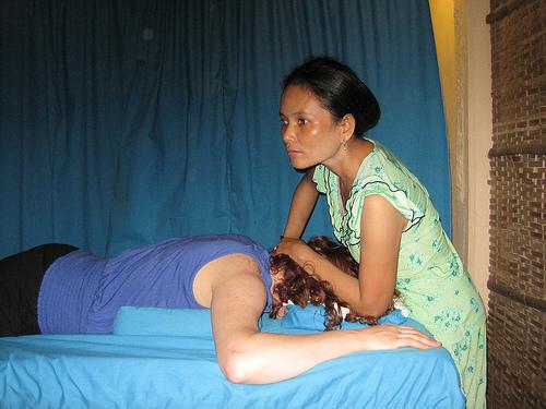 Blind masseuse 1