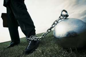 shackled
