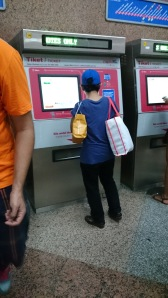 LRT Ticket Vending Machine